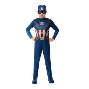 Marvel Captain America Halloween Costume with Mask